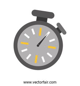 isolated  chronometer design. time concept , vector graphic