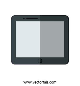 tablet icon . isolated technology gadget illustration. vector gr