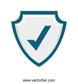 Security system concept. shield icon. protection concept. vector