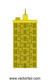 Building tower icon. Urban and city  design. vector graphic