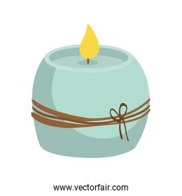 Candle icon. Candlelight design. vector graphic