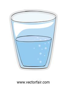 water drink icon. Organic and healthy food design. vector graphi