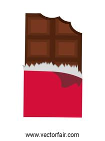 MotorcChocolate icon. Dessert or sweet design. vector graphicycl