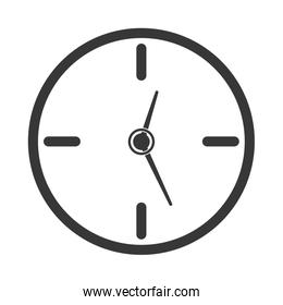 Clock  icon. Time design. vector graphic