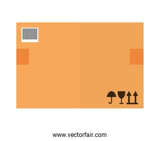 Delivery  icon. Package design. Vector graphic