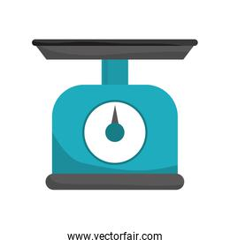 Weight icon. Scale design. Vector graphic