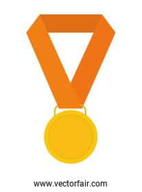 Medal icon. Winner design. Vector graphic