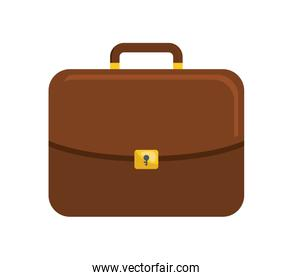 Suitcase icon. Bag and business design. vector graphic