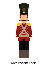 Soldier icon. Toy design. Vector graphic