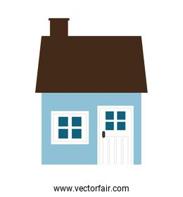 House icon. Family home design. Vector graphic