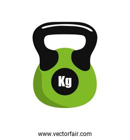 Weight icon. Healthy lifestyle design. Vector graphic