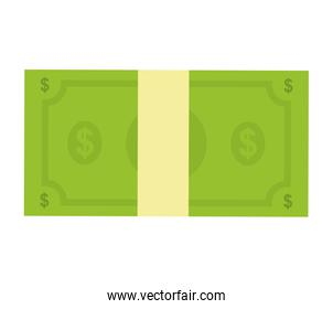 Bill  icon. Money design. Vector graphic
