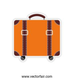 Bag icon.Travel and Tourism design. Vector graphic