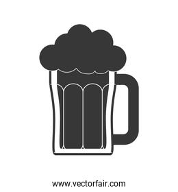 Beer icon. Drink and beverage design. Vector graphic