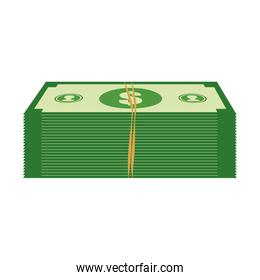 Bill icon. Money and financial item design. Vector graphic