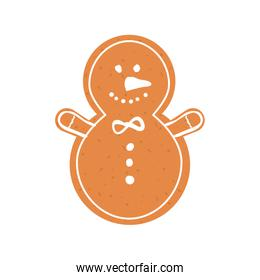 cookie icon. Merry Christmas design. Vector graphic