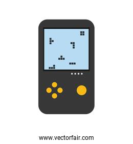 videogame icon. Gadget and technology design. Vector graphic