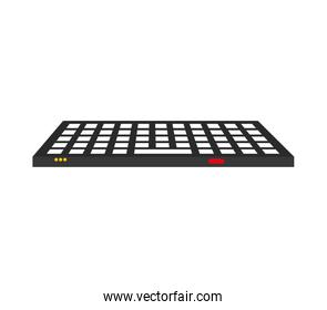 keyboard icon. Technology design. Vector graphic