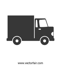 truck icon. Delivery and Shipping. Vector graphic