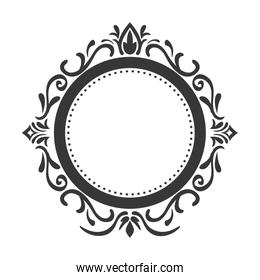 Seal stamp. Vintage draw design. Vector graphic