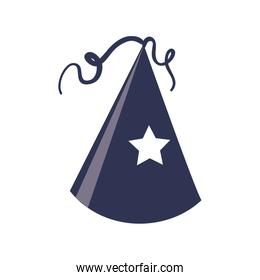 Party hat icon. Party design. Vector graphic