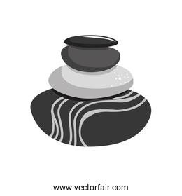 Stones icon. Rocks design. Vector graphic