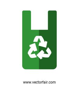 Recycle icon. Eco and conservation design. Vector graphic