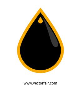 Drop icon. Oil industry concept. Vector graphic