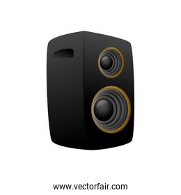 Speaker icon. Music and Sound concept. Vector graphic