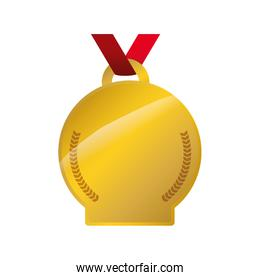 Medal icon. Winner concept. Vector graphic