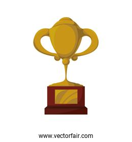 Trophy icon. Winner concept. Vector graphic