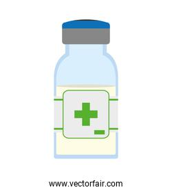 Medicine jar icon. Medical and Health care. Vector graphic