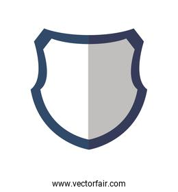 Shield icon. Security and Protection care. Vector graphic