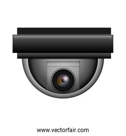 cctv camera icon. Security and Protection care. Vector graphic
