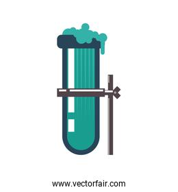 tube icon. Science and chemistry design. Vector graphic
