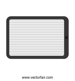 Tablet icon. Technology and gadget design. Vector graphic