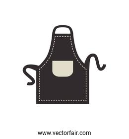 apron icon. Bakery supply design. Vector graphic