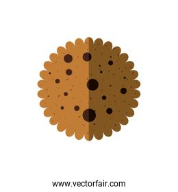 Cookie icon. Bakery design. Vector graphic