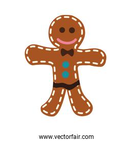 Cookie doll icon. Bakery design. Vector graphic
