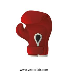 Glove icon. Boxing design. Vector graphic