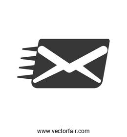 Envelope icon. Email design. Vector graphic