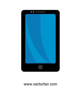 Smartphone icon. Gadget and technology design. Vector graphic