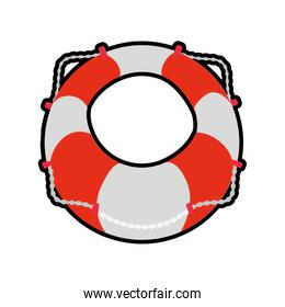 Float insurance accident protection icon.