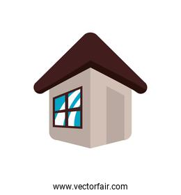 house home real estate residential icon. Vector graphic