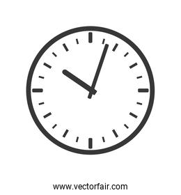 clock circle time traditional design. Vector graphic