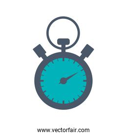 chronometer circle time traditional icon. Vector graphic
