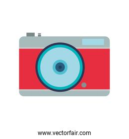 camera focus gadget technology icon. Vector graphic