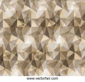 pattern polygonal background retro wallpaper icon. Vector graphi