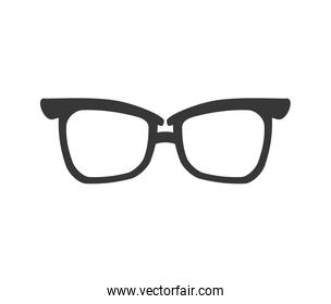 glasses traditional fashion icon. Vector graphic