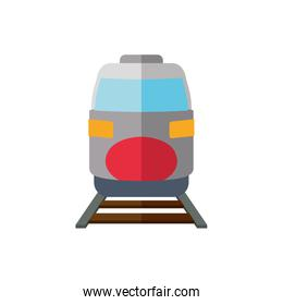 train transportation delivery travel icon. Vector graphic